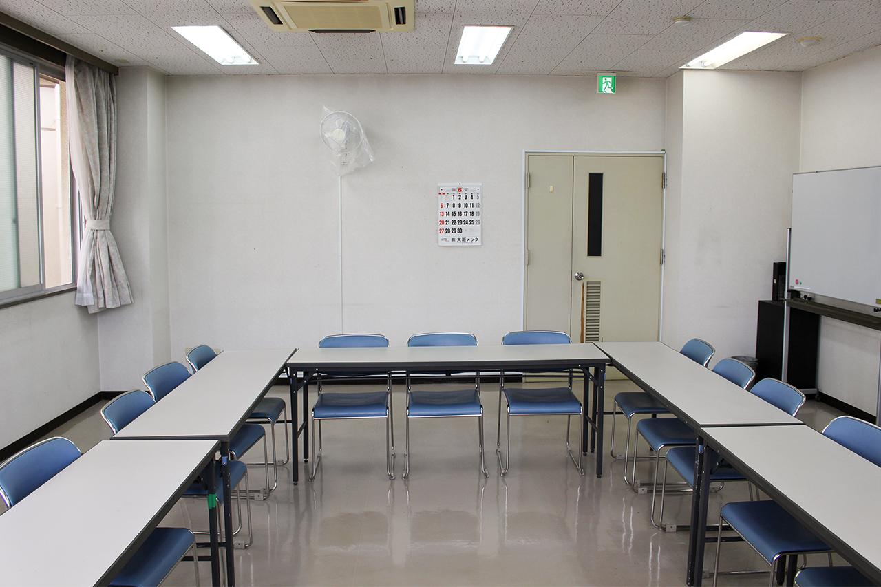 岸和田市立 高齢者ふれあいセンター : 会議室