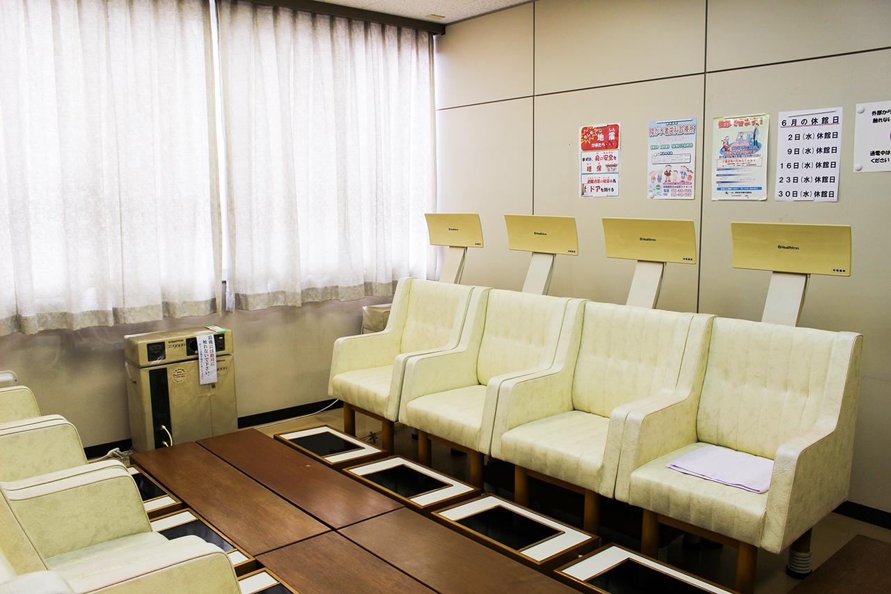 高齢者ふれあいセンター朝陽 : ヘルストロン室 : Image Gallery02
